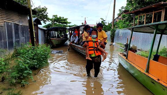 El COER advirtió que desde el próximo 7 al 9 de marzo Madre de Dios registrará precipitaciones pluviales de fuerte intensidad y posibles inundaciones en las zonas ribereñas (Foto: Goremad)
