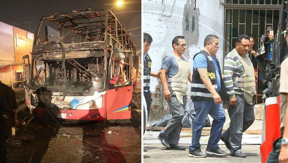 Audiencia contra chofer y copiloto de bus incendiado en Fiori será este jueves