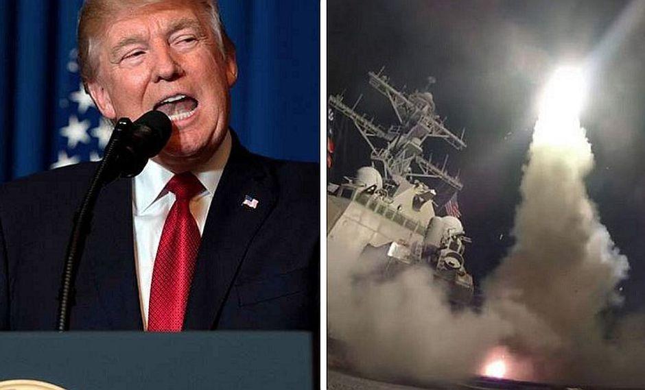 EE.UU.: Donald Trump anuncia ataque militar contra Siria (VIDEO)