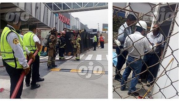 Primeras imágenes muestran las consecuencias de la explosión que dejó un muerto en el Jockey Plaza