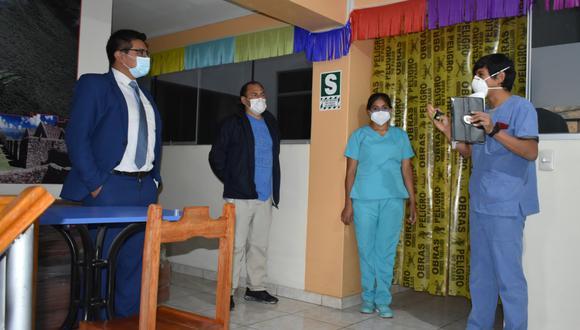 Diresa pone en funcionamiento centros de atención temporal para pacientes COVID-19 (Foto: Gore Apurímac).