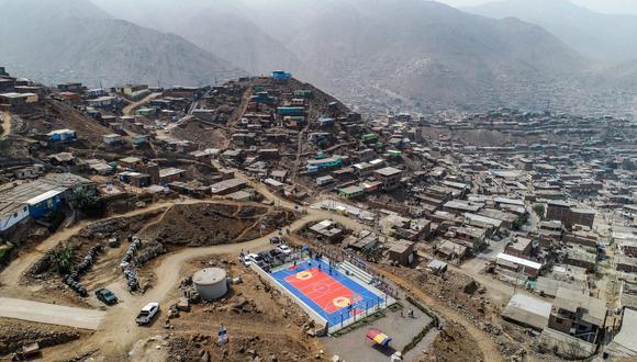 Lima: la losa deportiva se construyó en un área de 371.76 m2 y tuvo una inversión total de S/ 404,000 soles. (Foto Municipalidad de Lima)