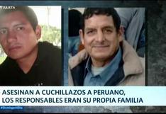 Peruano es asesinado por su propia familia: Cámara registra brutal crimen en Argentina   VIDEO