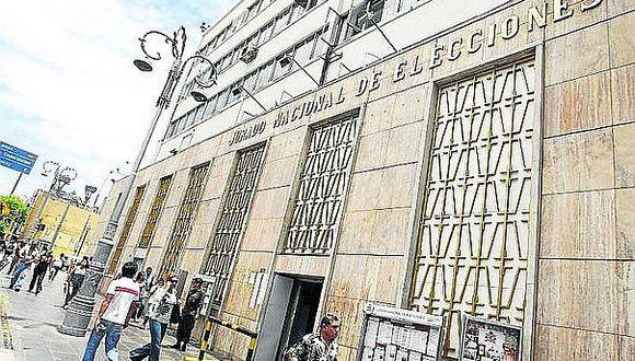 JNE pide pasar a la Fiscalía casos de plagio en los planes de gobierno