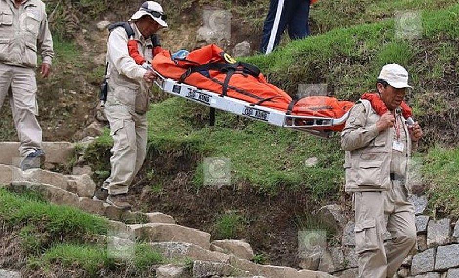 Cusco: Turista y guía resultan heridas tras caerles rayo en Machu Picchu