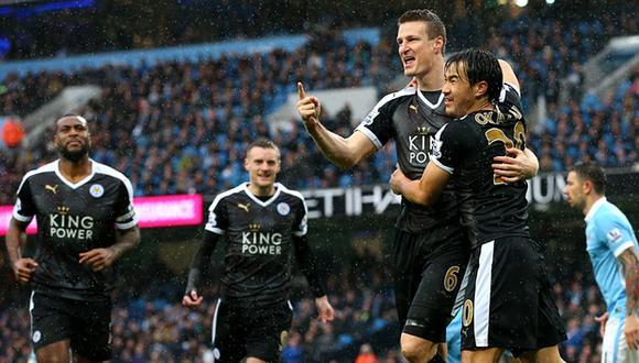 Premier League: Leicester vence 1-3 al local Manchester City y ratifica liderato