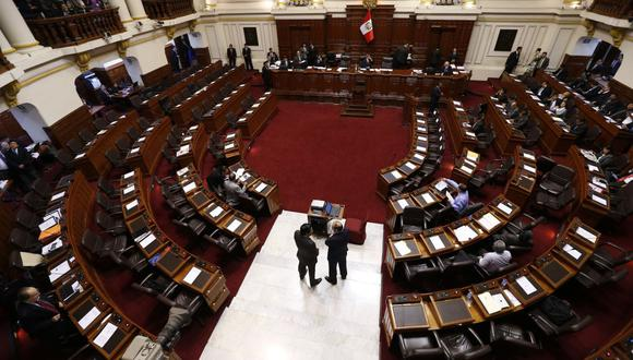 La ceremonia de juramentación de los 130 nuevos congresistas se realizará este viernes 23 de julio, desde las 08:00 horas. (Foto: GEC)