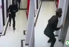 Lince: difunden video del preciso momento en que vigilante de hotel fue asesinado de un balazo | VIDEO