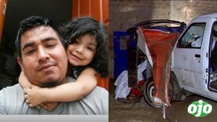 Padre y su hija de 5 años fallecen en accidente: el otro hijo de la víctima, de 2 añitos, lucha por su vida