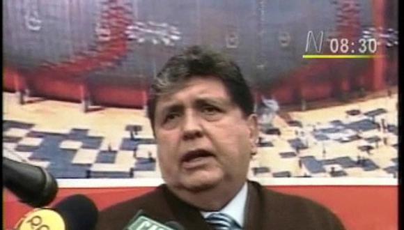 García: Hay crímenes que deben ser pagados con la vida