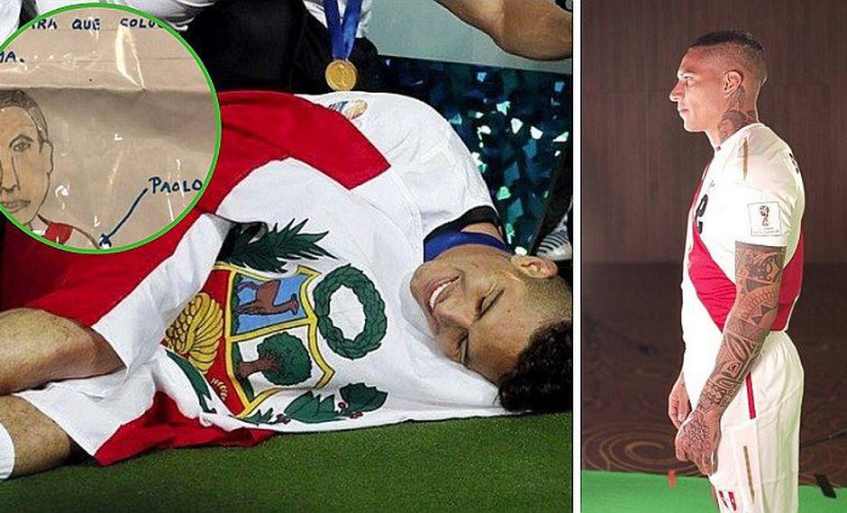 Paolo Guerrero se conmueve con carta que niño le envió a poco de su debut en Rusia 2018
