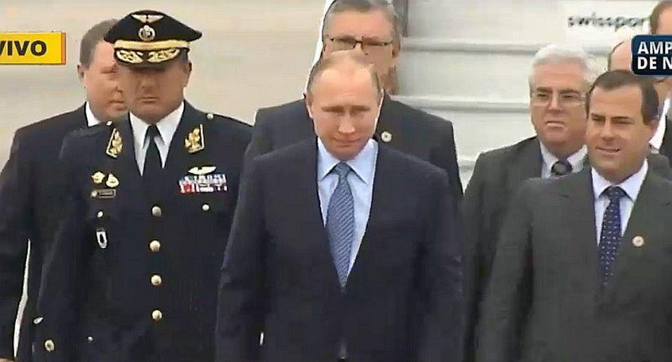APEC: Vladimir Putin ya se encuentra en Lima