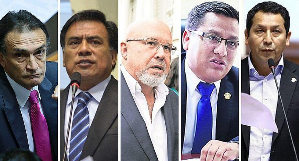 Ministerio Público investiga a cinco congresistas por presuntos actos de corrupción (VIDEO)