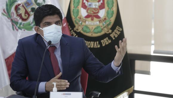 Juan Carrasco fue ministro del Interior por dos meses. (Foto: Jessica Vicente/ GEC)