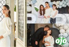 Natalie Vértiz comparte fotos oficiales de su baby shower con su familia y amigas │FOTOS