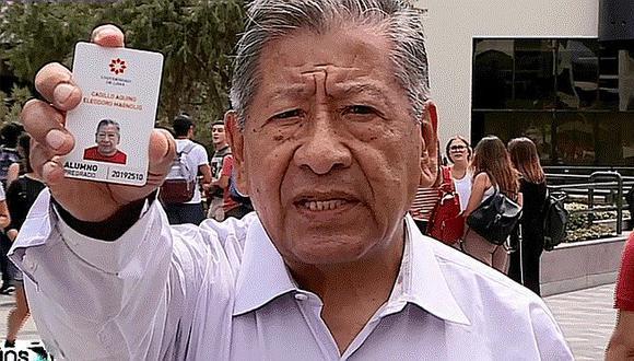 Abuelito de 82 años que se convirtió en 'cachimbo' se vuelve viral (FOTOS)