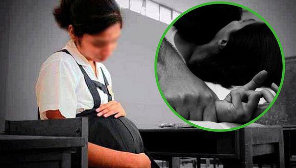 Alumnos se burlan de su compañera embarazada y ella confiesa que su padre la abusó