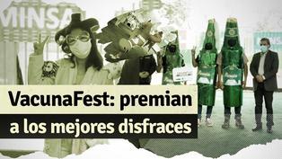 VacunaFest: Minsa premió a los ganadores del concurso de disfraces