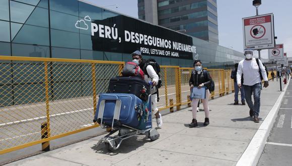 Martín Vizcarra aseguró que el Gobierno será más estricto con el ingreso de extranjeros. (Foto: Leandro Britto / GEC))