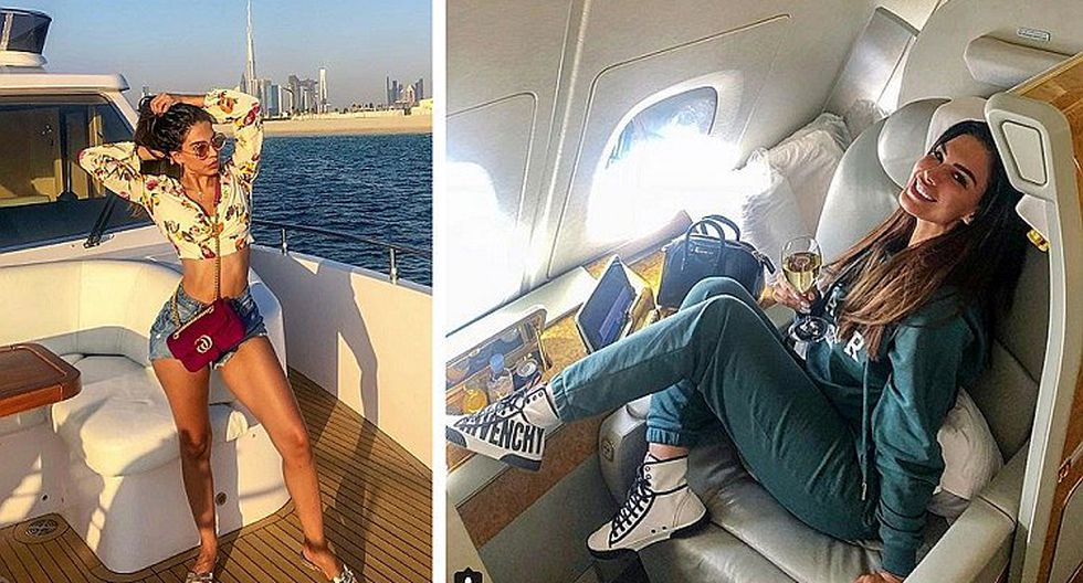 Stephanie Valenzuela presentó a su novio, quien la complace con su lujosa vida en Dubai (FOTOS)