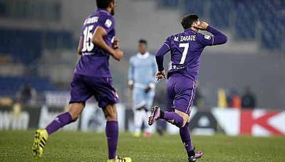 Mauro Zárate deja a la Fiorentina y vuela a la Premier League