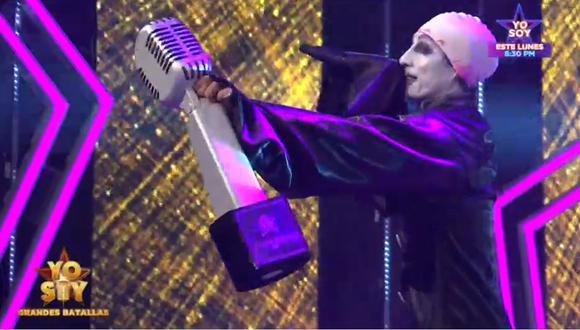 """La final de """"Yo Soy: Grandes Batallas"""" tuvo como finalistas a los imitadores de José José y Marilyn Manson. (Foto: @yosoyperupaginaoficial)"""