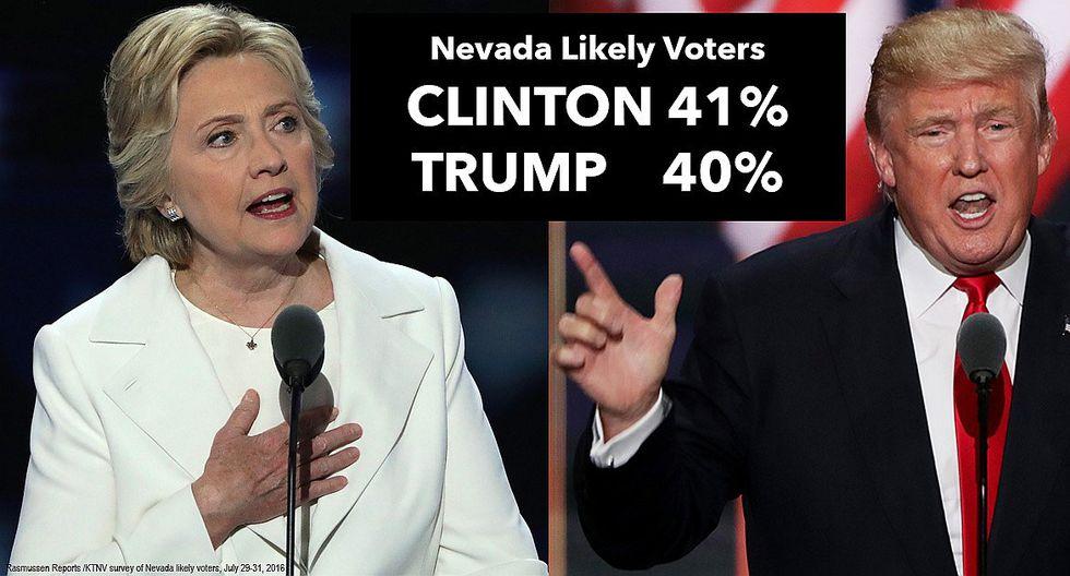 Trump: Violan ley electoral y llevan a votantes de Clinton en buses