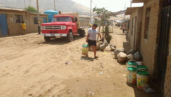 El centro poblado Alto Trujillo, en Trujillo, La Libertad, sufre desabastecimiento de agua. (Foto: Trujillo Día a Día)