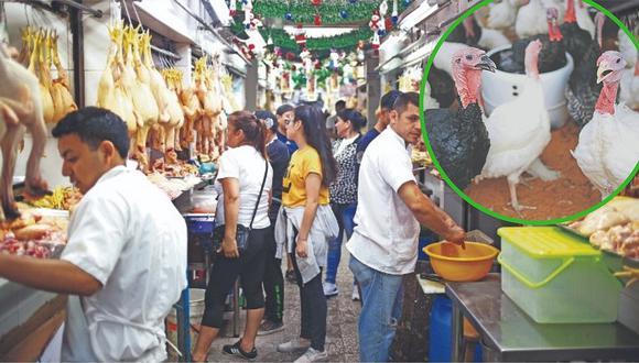 Rayan con pavos y lechones: con 5 soles se pueden separar aves en el Mercado Central