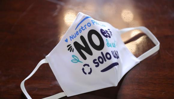 Minam invoca a utilizar mascarillas reutilizables porque desechables tardan más 400 años en degradarse (Foto: Minam)