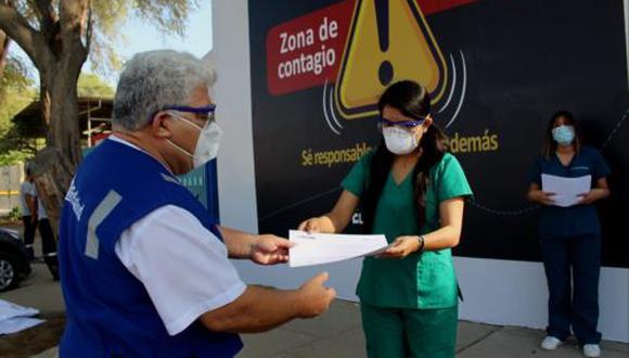 Médicos regresan a Lima tras 21 días de brindar ayuda a pacientes COVID-19 (Foto difusión).