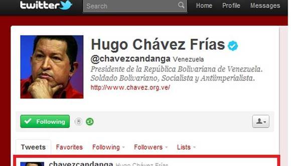 Vía Twitter, Hugo Chávez da la bienvenida a Venezuela a Ollanta Humala