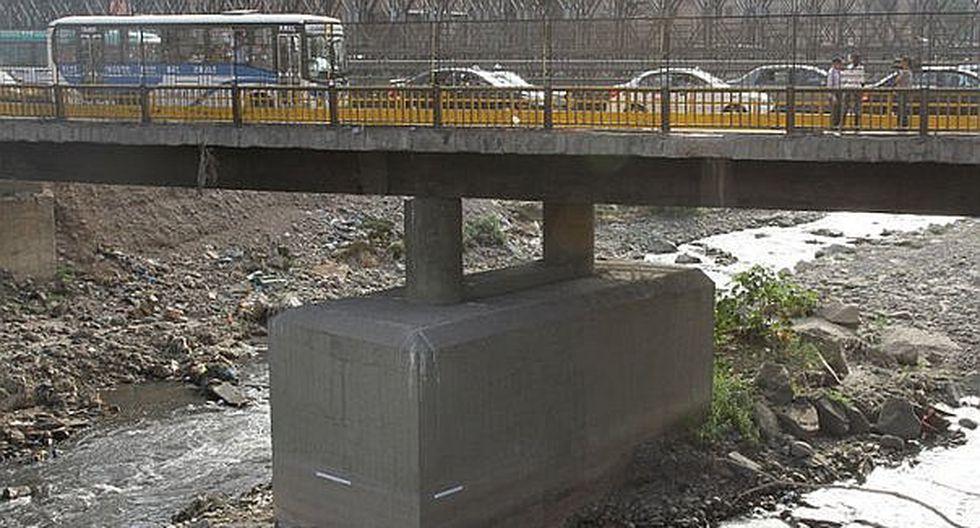 Contraloría exige a Lima reanudar trabajos en el puente Bella Unión