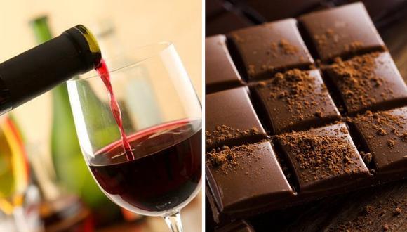 Chocolate y vino retrasan el envejecimiento y disminuyen las arrugas
