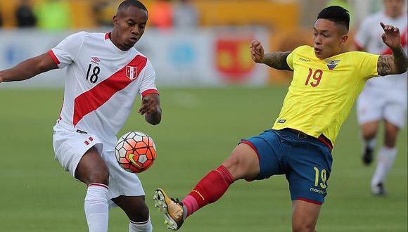 Ecuador revela lista de convocados con la que se enfrentará a Perú en amistoso