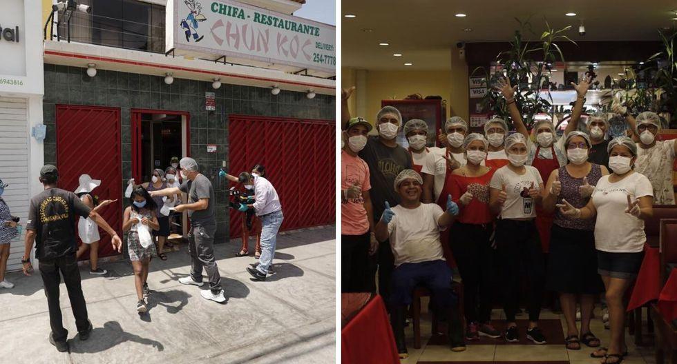 ChifaChun Koc reparte comida gratis