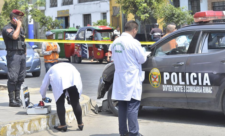 """Rímac: Así fue el ataque de """"marcas"""" a policías tras asalto a cambista [FOTOS]"""