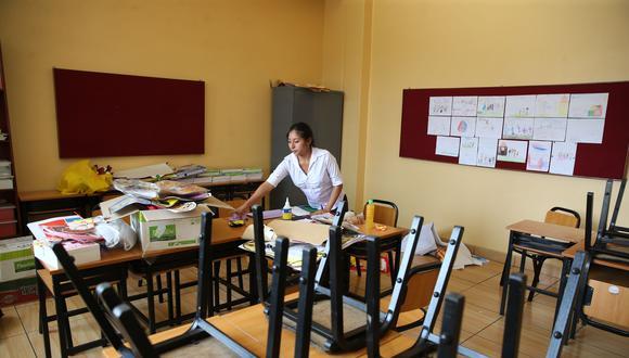 Las autoridades regionales y educativas consideran que la situación sanitaria por el COVID-19 aún no puede ser controlada a nivel nacional. Esta podría agravarse producto de la variante brasileña y británica que ya se encuentran en 10 regiones del país y en el Callao (Foto: Minedu)