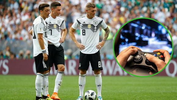 El videojuego que obsesionó y llevó a la pronta eliminación de Alemania en el mundial