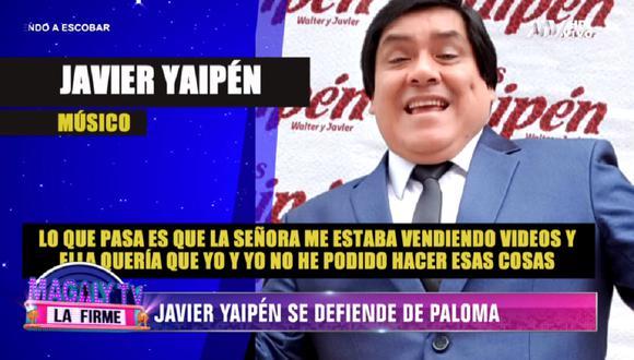 'Paloma de la Guaracha' difundió chats privados con Javier Yaipén. (Foto: Captura América TV)