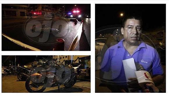 Auto mata a señor y al darse a la fuga arrolla moto de repartidor de pizza (FOTOS)