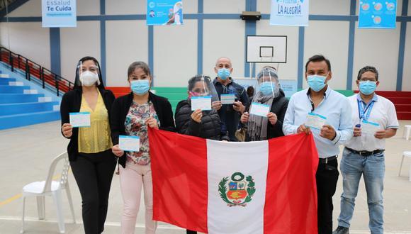 Hasta el momento 2,855 profesionales de la salud de la región ya completaron su proceso de inmunización, el universo es de 3,221 trabajadores (Foto: EsSalud)