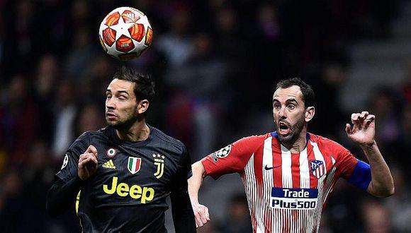 Liga de Campeones: Atlético de Madrid vence 2-0 a la Juventus