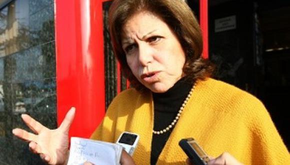 Lourdes Flores dice que Fujimori no debe ser indultado