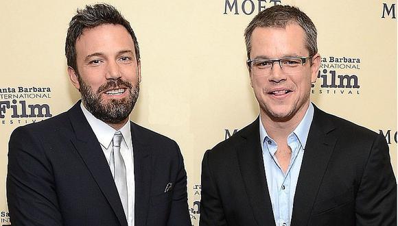 Matt Damon y Ben Affleck involucrados en escándalo de acoso sexual