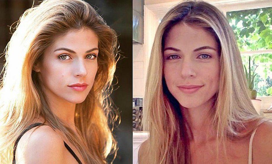 Stephanie Cayo: así es su bella transformación al maquillarse