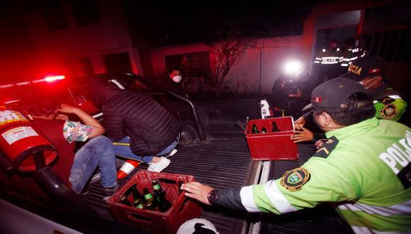 Fiesta clandestinas se han venido reportando pese al estado de emergencia por el COVID-19. (Foto: César Grados/@photo.gec)