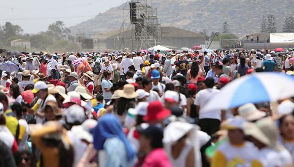 Papa en el Perú: sensación térmica superaría los 30 grados en la base Las Palmas