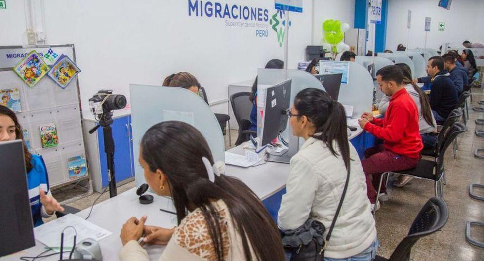 El 50 % ingresó al país en los últimos cuatro días. (Foto: Migraciones)