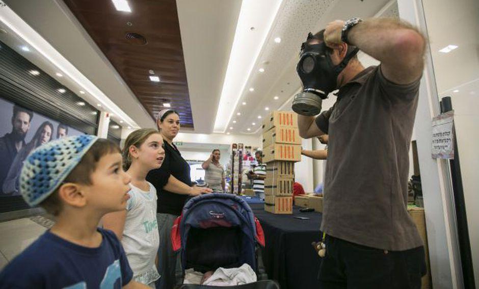 Israel ya no distribuirá máscaras antigás porque no teme ataque químico